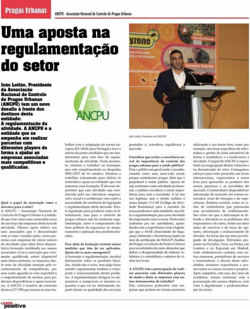 Figura entrevista João Leitão -Outubro de 207