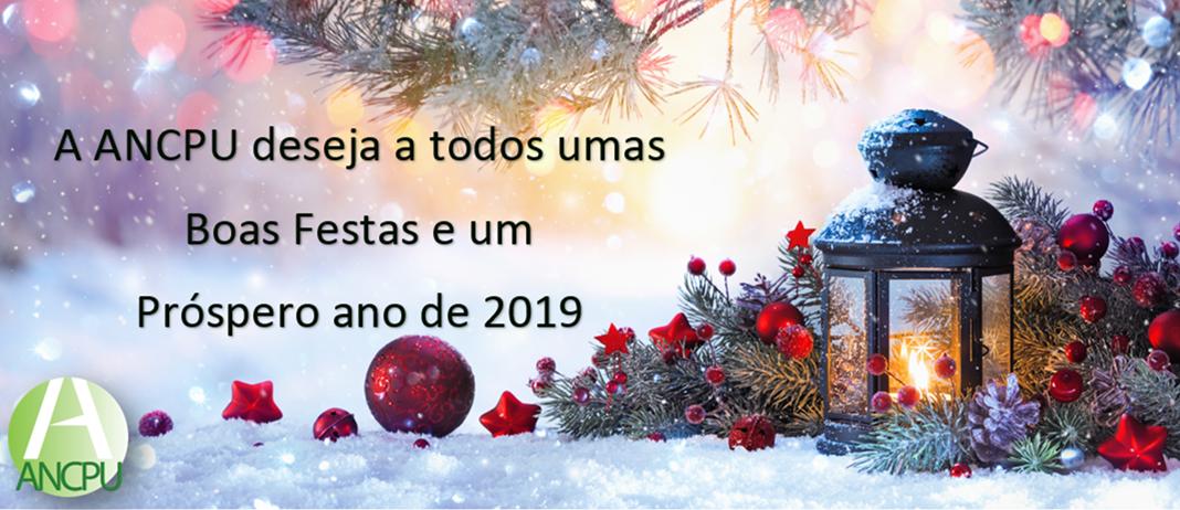 Boas festas ANCPU 2018